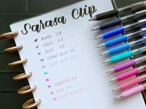 Zebra Sarasa Clip 0.5mm