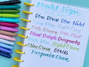 Pentel Brush Sign Pen