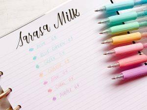 Zebra Sarasa Milk 0.5mm