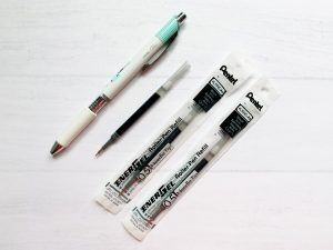 Refill Pentel Energel Black 0.5mm