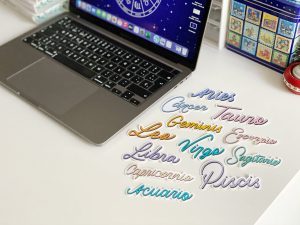 Sticker Signo Zodiacal