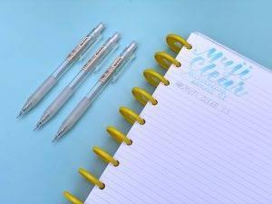 Muji Clear Mechanical Pencil 0.5mm
